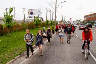 Marche des Peuples pour la Terre Mère