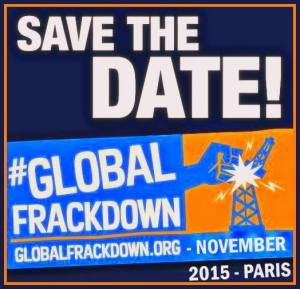 GLOBAL FRACKDOWN PARIS 2015